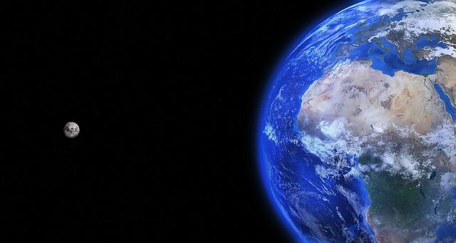 Warum entfernt sich der Mond von der Erde?