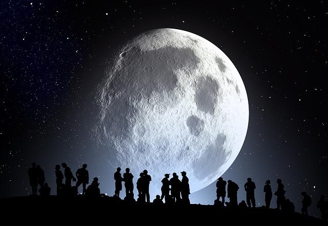 Wie groß ist der Mond?