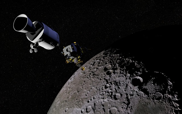 Wie groß ist die Gravitationskraft des Mondes im Vergleich zur Erde?