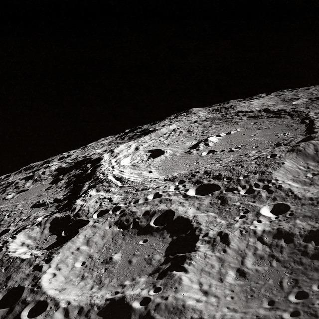 Welcher Krater ist der größte auf dem Mond?