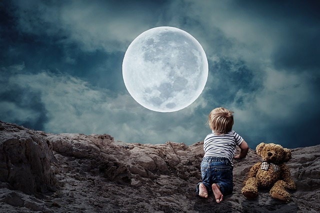 Was ist eine Mondtäuschung und wodurch entsteht sie?