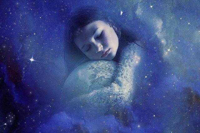 Der Vollmond stört unseren Schlaf