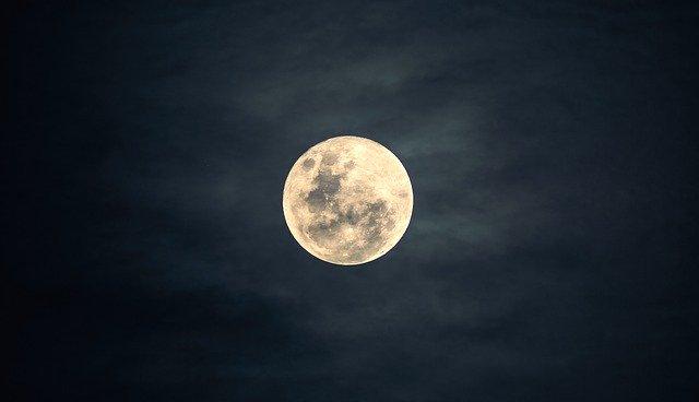 Vollmond im Juli 2020 – Halbschatten Mondfinsternis