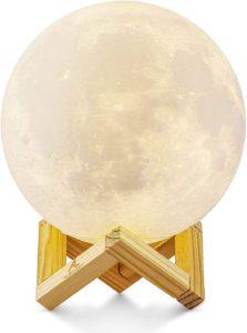 Mond Lampe