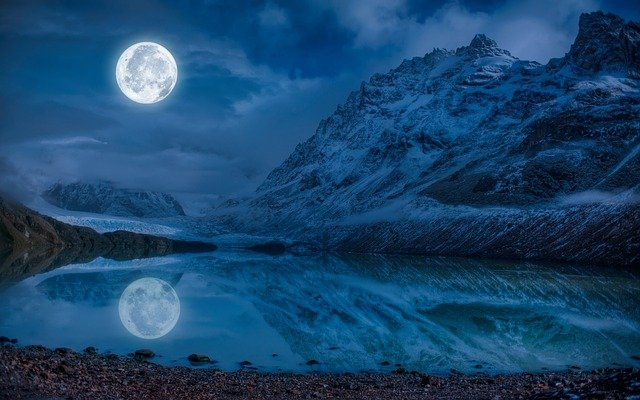 Vollmond im Oktober 2020 – Seltener Blue Moon erscheint am Himmel